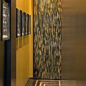 mosaïque d'intérieur / murale / en verre / en marbre