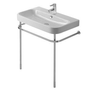 console pour lavabo en métal