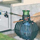 cuve enterrée / de récupération d'eau de pluie