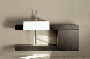 plan vasque en chêne / par Giulio Cappellini