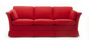 canapé classique / en tissu / 3 places / avec revêtement amovible