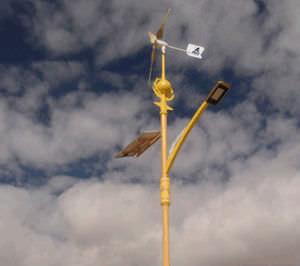 petite éolienne à axe horizontal