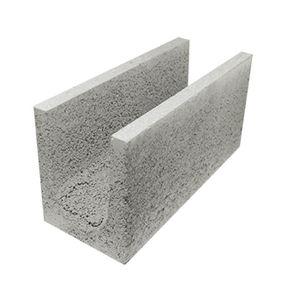 linteau en béton / armé / isolant / en forme de U