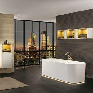 Salle de bain contemporaine - Tous les fabricants de l\'architecture ...