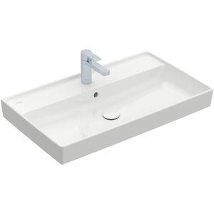 vasque à encastrer / rectangulaire / en céramique / contemporaine