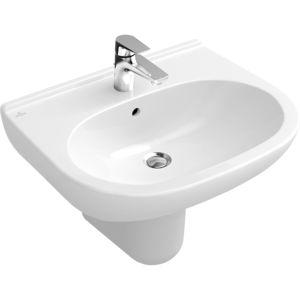 lave-mains suspendu / en porcelaine