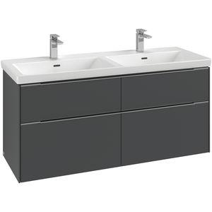 meuble vasque double