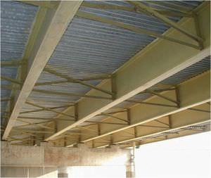 poutre en acier / en H / pour construction de pont