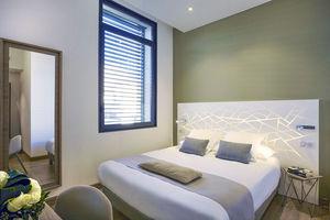 tête de lit pour lit double / design original / en acrylique / avec lumière intégrée