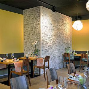 parement décoratif / en bois / intérieur / texturé