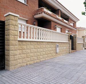clôture de type balustrade