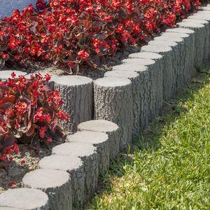 bordurette de jardin / en béton / droite / circulaire