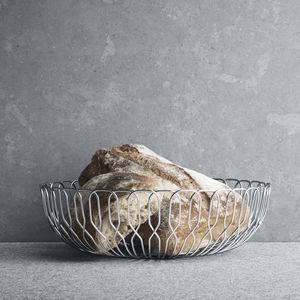 corbeille à pain en inox