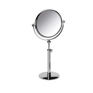 miroir à poser / grossissant / contemporain / rond