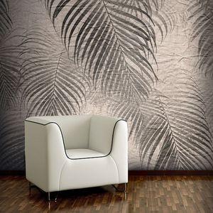 papier peint contemporain / en vinyle / en polyester / floral