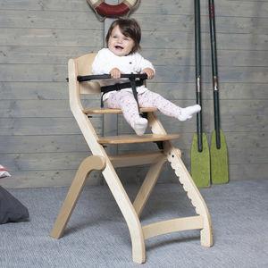 chaise haute standard / en bouleau