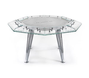 table de poker contemporaine