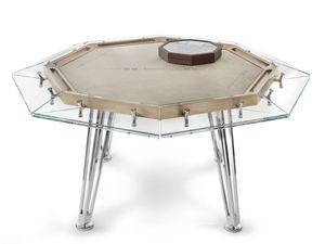 table de poker contemporaine
