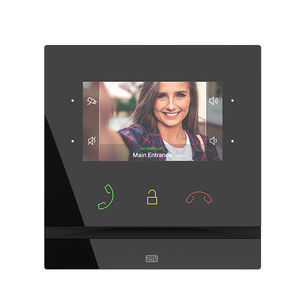 visiophone mains libres / IP / pour contrôle d'accès / à écran couleur