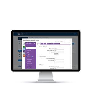 logiciel de gestion de contrôle d'accès et de sécurité / pour système RFID / pour visiophone (interphone IP)