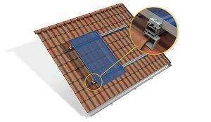 système de montage pour toiture en pente