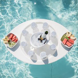 bar de jardin flottant