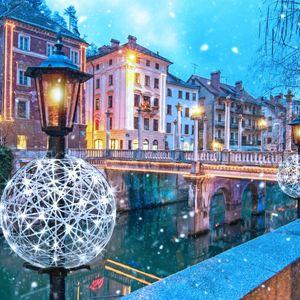 décorations de Noël lumineuses à LED
