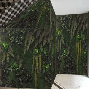 mur végétal stabilisé / en végétaux vivants / en panneau modulaire / sur mesure