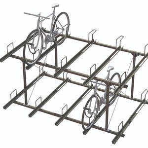 range-vélo en acier à revêtement par poudre