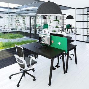 bureau pour open space / en mélaminé / contemporain / professionnel