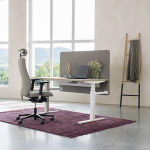 chaise de bureau contemporaine / à roulettes / avec repose-tête / pivotante