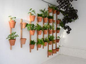 pot de jardin en bois
