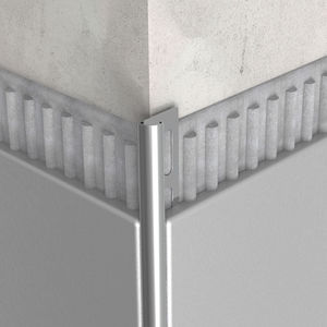 profilé de finition en acier inoxydable
