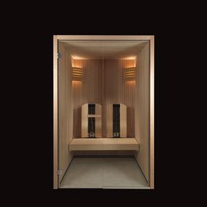 sauna infrarouge / professionnel. / en bois / pour intérieur