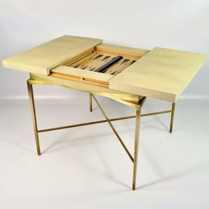table de backgammon contemporaine