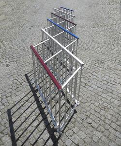 barrière de contrôle d'accès / de protection / pliante / autoportante