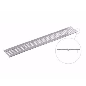 grille pour caniveau en acier galvanisé