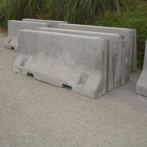 glissière de sécurité en béton
