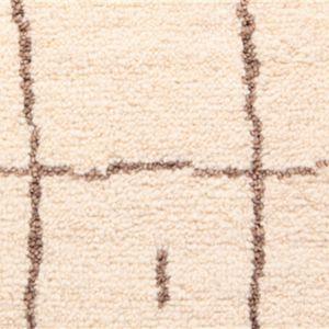 moquette faite main / en laine / pour le tertiaire