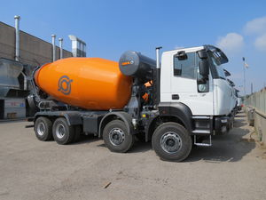camion malaxeur diesel