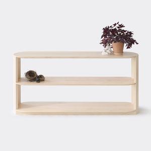 étagère basse / contemporaine / en chêne / en bois massif
