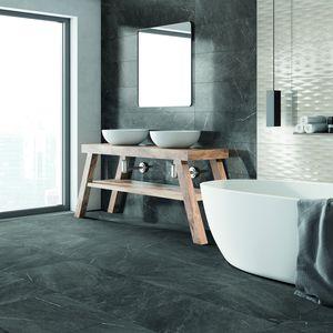 carrelage de salle de bain / mural / en grès cérame / 25x75 cm