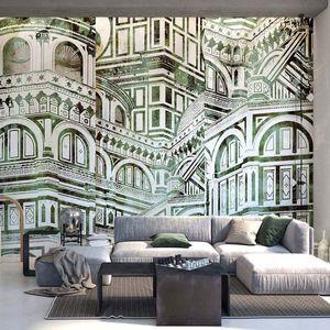papier peint contemporain