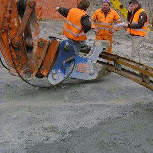 pince de levage hydraulique