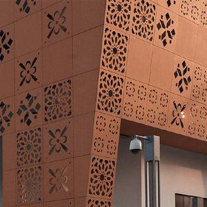 façade ventilée en terracotta