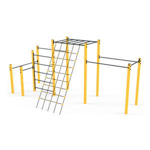 aire de fitness en plein air pour aire de jeux