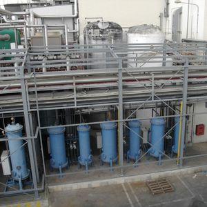structure métallique pour applications industrielles / en acier galvanisé