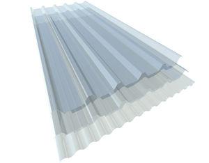 panneau en polycarbonate ondulé
