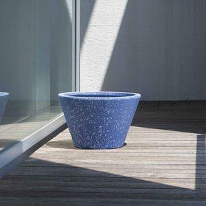 pot de jardin en terre cuite / rond / résidentiel