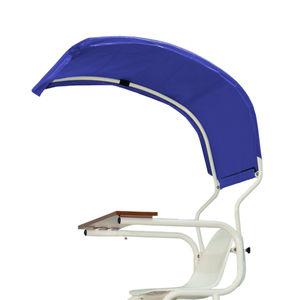 chaise d'arbitre en acier / en aluminium